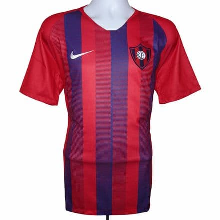 2019 Cerro Porteno Home Football Shirt Nike Large (Excellent Condition)